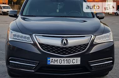 Внедорожник / Кроссовер Acura MDX 2015 в Житомире