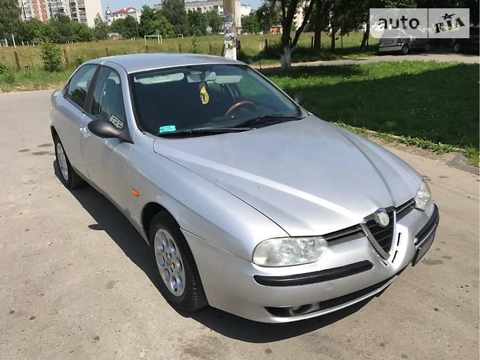 Alfa Romeo 156 2001 года в Львове