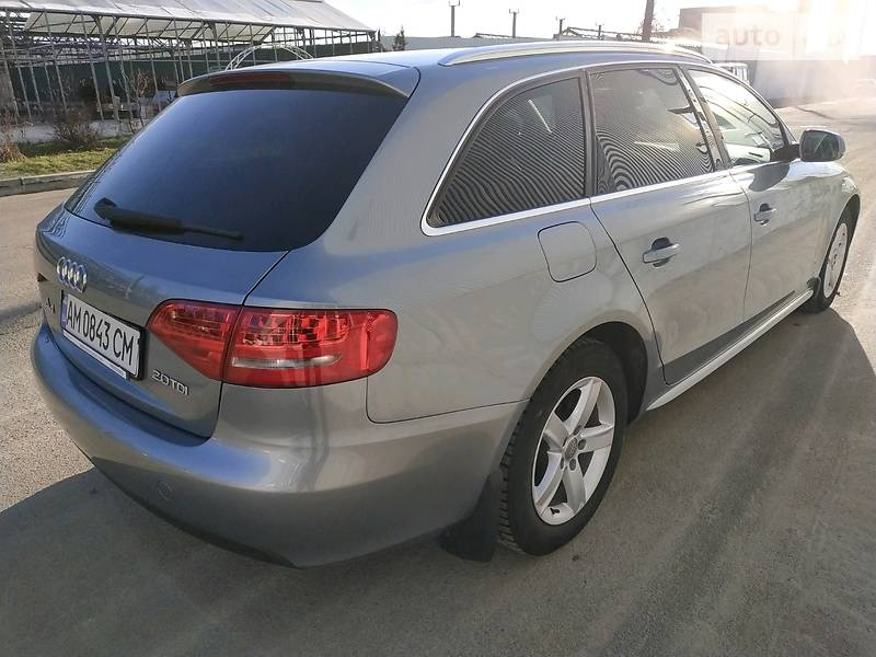 Audi A4 2010 року в Житомирі