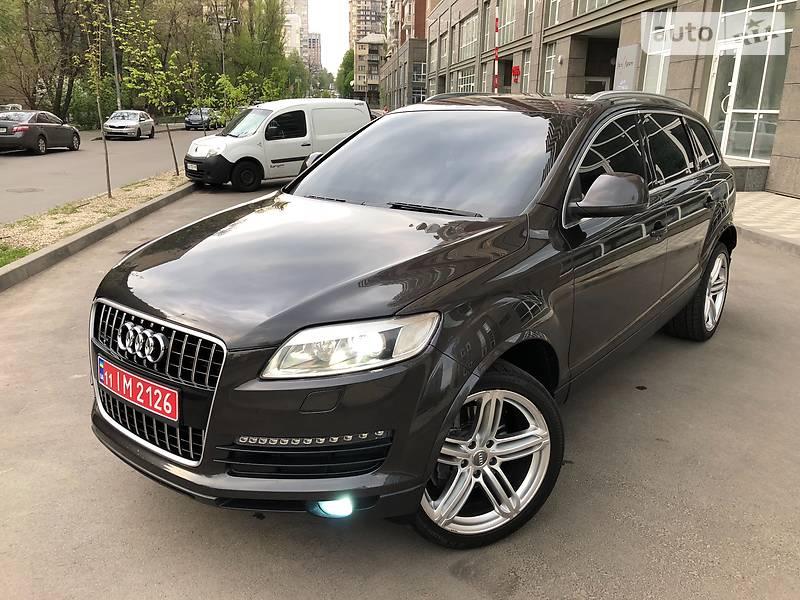 Audi Q7 2007 года