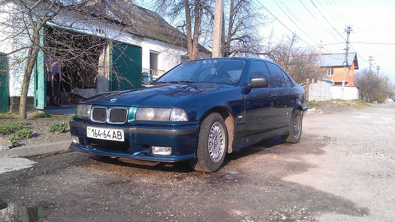 BMW 3 1991 года