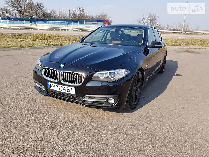 Седан BMW 520 2015 в Новограді-Волинському