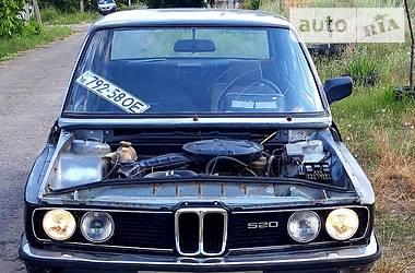 Седан BMW 520 1980 в Одессе