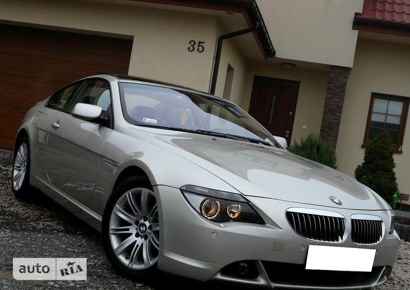 BMW 645 2004 в Одессе