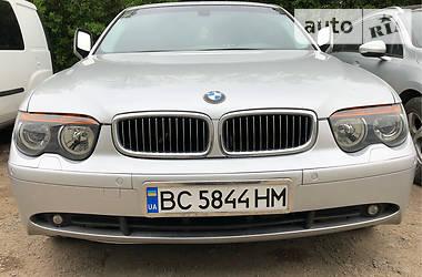 Седан BMW 735 2002 в Львове