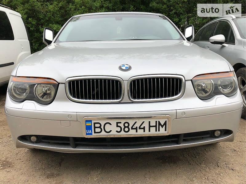 Седан BMW 735 2002 в Львові