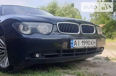 Седан BMW 735 2002 в Киеве