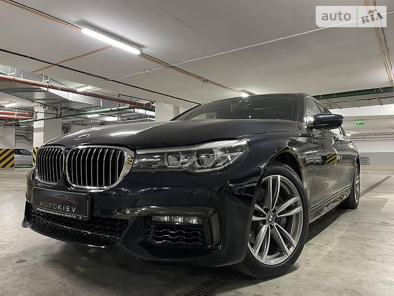 Седан BMW 740 2016 в Киеве