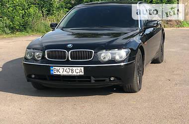 BMW 745 2002 в Сарнах