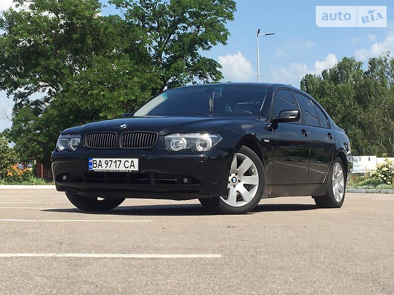 BMW 745 2002 в Кропивницком