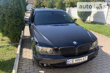 Седан BMW 750 2007 в Черновцах