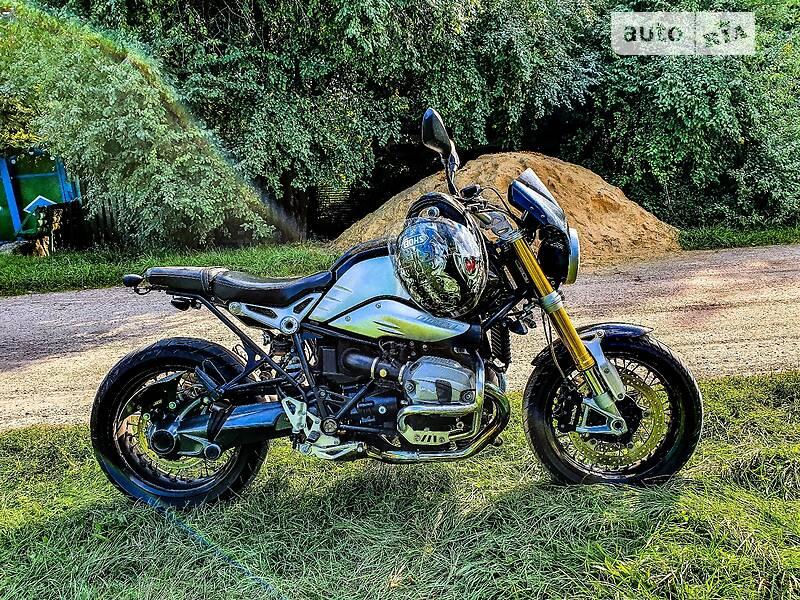 BMW R Nine T 1200 silver