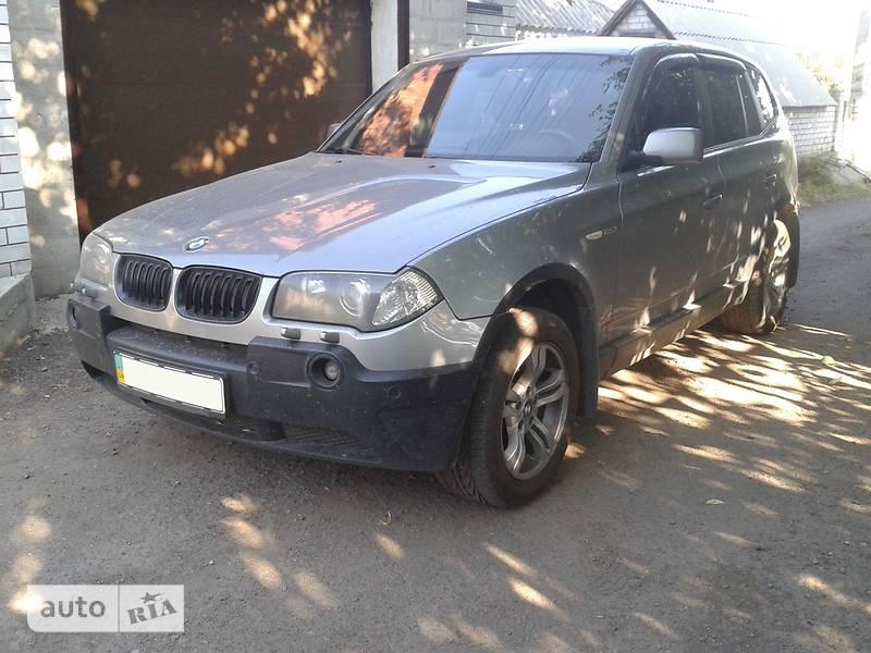 BMW X3 2005 в Днепре