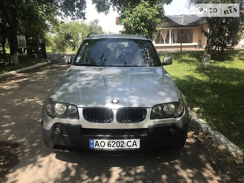 Позашляховик / Кросовер BMW X3 2004 в Мукачевому