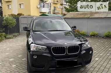 Внедорожник / Кроссовер BMW X3 2011 в Львове