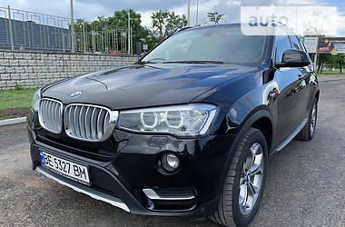 Внедорожник / Кроссовер BMW X3 2016 в Николаеве