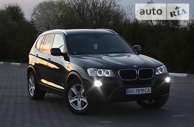 Внедорожник / Кроссовер BMW X3 2013 в Бучаче