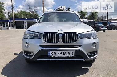 Внедорожник / Кроссовер BMW X3 2016 в Киеве