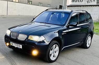 Внедорожник / Кроссовер BMW X3 2007 в Киеве