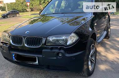 Внедорожник / Кроссовер BMW X3 2004 в Черкассах
