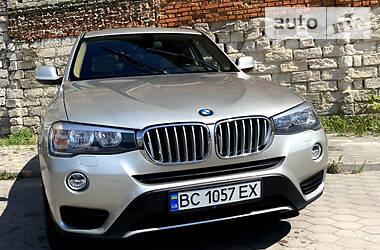Внедорожник / Кроссовер BMW X3 2014 в Львове