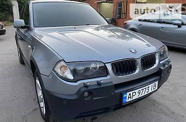 Внедорожник / Кроссовер BMW X3 2005 в Запорожье
