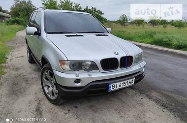 Внедорожник / Кроссовер BMW X5 2002 в Кременчуге