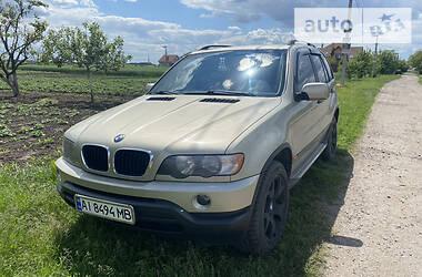 Внедорожник / Кроссовер BMW X5 2002 в Василькове