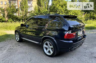 Позашляховик / Кросовер BMW X5 2003 в Києві