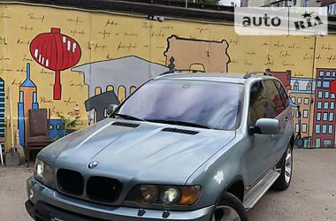 Внедорожник / Кроссовер BMW X5 2003 в Одессе