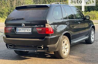Внедорожник / Кроссовер BMW X5 2002 в Мариуполе