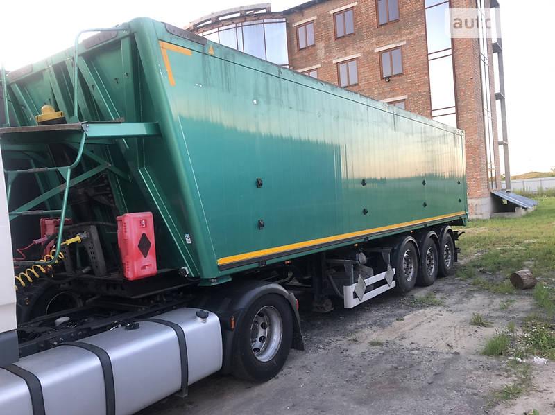 Зерновоз - напівпричіп Bodex KIS 2014 в Луцьку