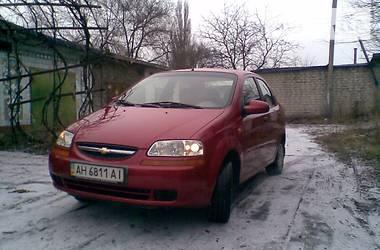 Chevrolet Aveo 2005 в Донецке