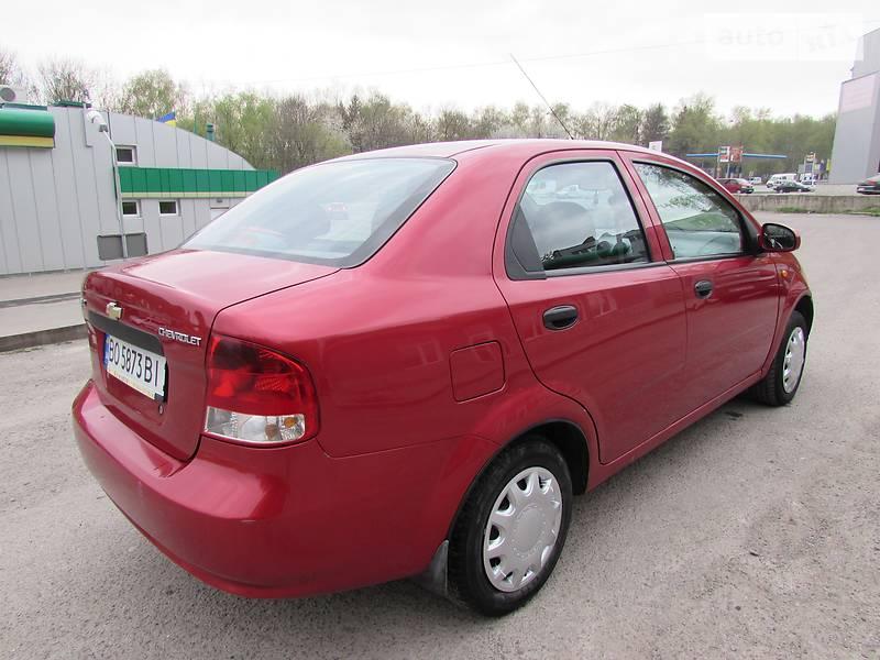 Chevrolet Aveo 2005 в Тернополе