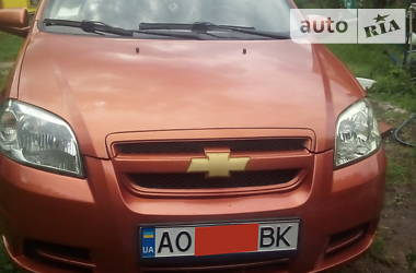 Chevrolet Aveo 2007 в Тячеве