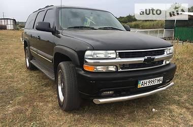 Внедорожник / Кроссовер Chevrolet Suburban 2003 в Доброполье