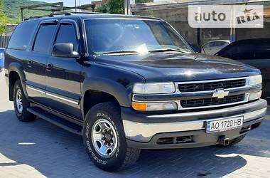 Внедорожник / Кроссовер Chevrolet Suburban 2000 в Ужгороде