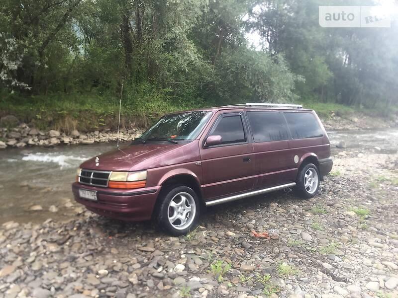 Chrysler Grand Voyager 1991 в Рахове