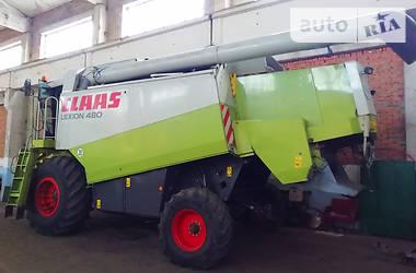 Комбайн зерноуборочный Claas Lexion 480 2002 в Жашкове
