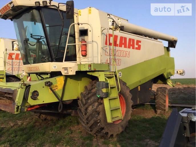 Claas Lexion 2000 в Городенке