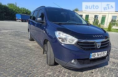 Минивэн Dacia Lodgy 2012 в Ильинцах