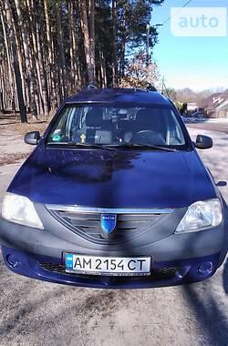 Унiверсал Dacia Logan MCV 2007 в Житомирі