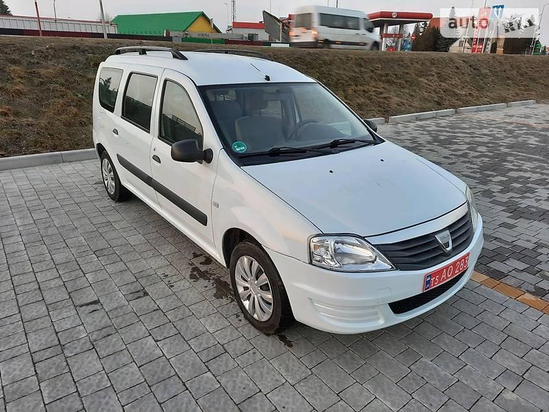 Унiверсал Dacia Logan 2009 в Стрию