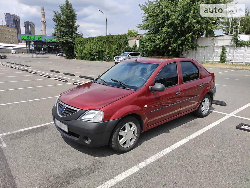 Седан Dacia Logan 2006 в Києві
