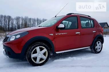 Dacia Sandero StepWay korida 2012