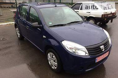 Хэтчбек Dacia Sandero 2009 в Лисичанске