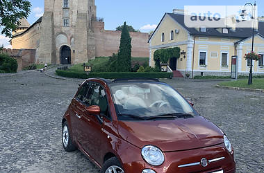 Fiat 500 C 2012 в Луцке