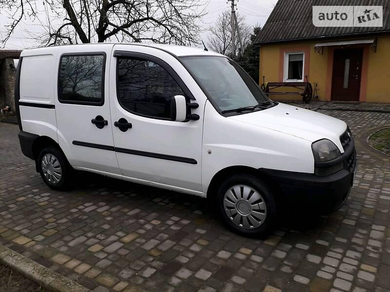Fiat Doblo пасс. 2002 в Городке