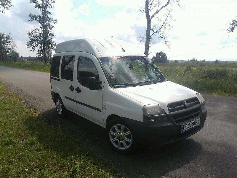 Fiat Doblo пасс. 2002 в Стрые