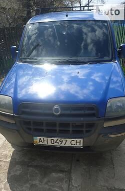 Легковой фургон (до 1,5 т) Fiat Doblo пасс. 2001 в Мариуполе